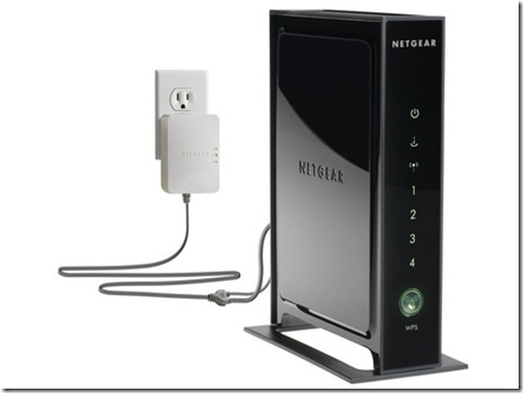 Netgear N300 Wireless Router with Powerline AV (WNXR2000)