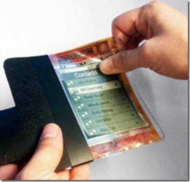 Smart paper phone slim phone