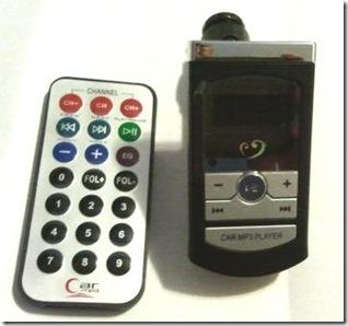 fm Mp3 car stereo modulator with usb