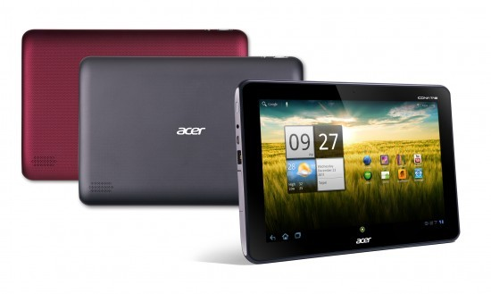The ACER ICONIA A200 Tab