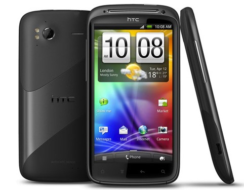 HTC 4G enters the market with style with a sensation ,ready to inspire with full velocity