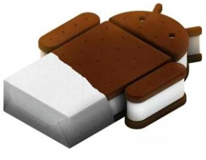 jelly bean and ice cream sandwich update