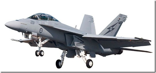 FA 18F Super Hornet Fighter australia