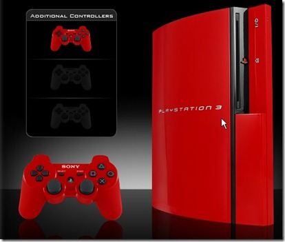 sony limited edition red ps 3 australia