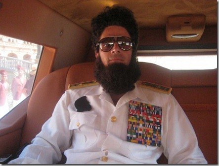 dictator vehicle ali g  borat dartz motors armored vehicle