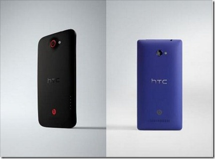 HTC One X  and HTC 8X