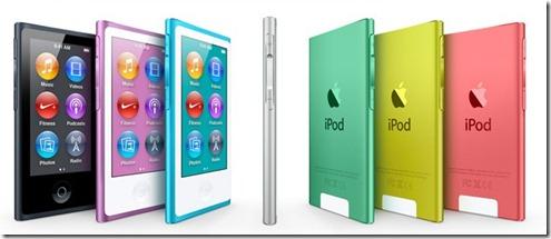 apple Ipad touch and Nano