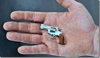 smallest gun in the world