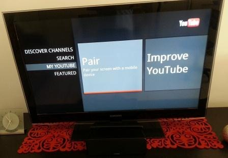 Playing You tube videos on smart phone to TV – Technology