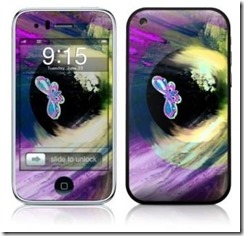 Smart phone Iridescent Butterfly iPhone  Skin