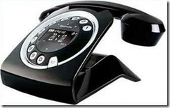 SAGEMCOM SIXTY RETRO DECT HOME CORDLESS TOUCH PAD PHONE
