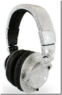 Shiny Swarovski DJ Headphones