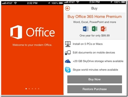 iphone ipad app for microsoft office