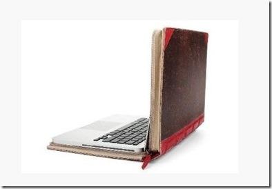 15-Inch MacBook Pro - Vintage leather cas