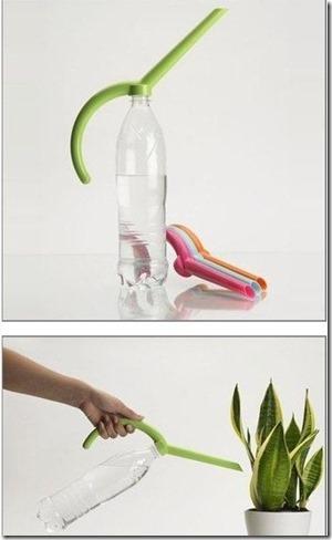 garden DIY bottle sprinkler