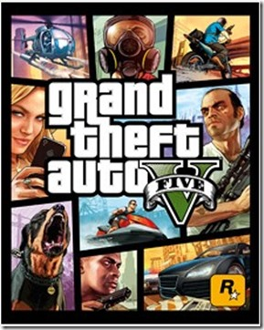 Rock star games release Grand theft auto V