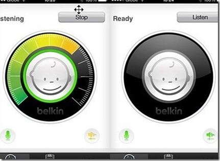 app with WiFi signal ios device