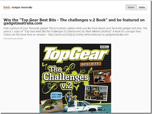 Win a Top gear Best bits V.2 book