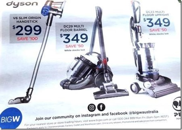 the dyson australia sale and offer