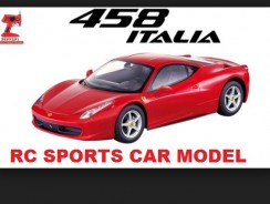Price for Licensed Ferrari 458 Italia 1:12 RTR Electric RC Car